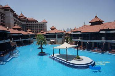 ドバイ【ホテル編】5つ星ホテル 水上ヴィラ「アナンタラ ザ パーム ドバイ リゾート (Anantara The Palm Dubai Resort )」
