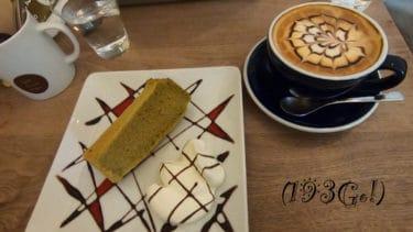 【高円寺 カフェ】ふわふわ~ホイップたっぷりのシフォンケーキが絶品!ラテアートも「Cafe Cross Point(カフェ クロスポイント)」