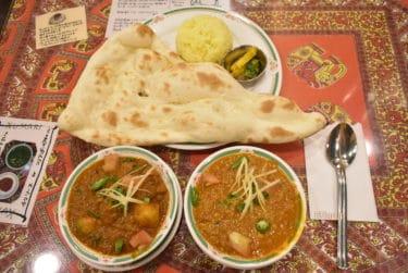 【阿佐ヶ谷 カレー】焼きたてナン旨い!南口すぐのネパール料理「KUMARI(クマリ)」夜分のボリューミーセット