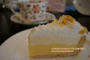 【吉祥寺 カフェ】「多奈加亭(たなかてい)」レモンパイが名物のレトロ喫茶 おしゃれなカップでティータイムを