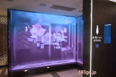 【グランスタ東京】B1Fのトイレがすごい!コンセプトは「水景」まるでアクアリウム