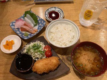 【吉祥寺】鮮魚とイカ「ととまろ」バランス良いお魚ランチ