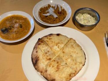【麹町・四ツ谷 カレー】本格南インドの名店「アジャンタ (AJANTA)」2種のカレーとパンも選べるお得ランチ