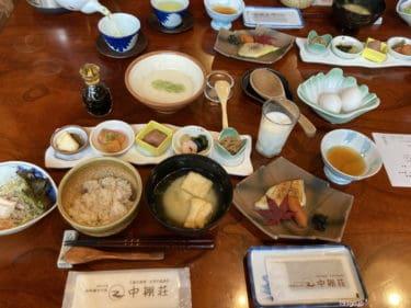 【長野 旅館】「中棚荘」りんご尽くしプラン!夕食は大正館で懐石料理 自然に囲まれたレトロ宿