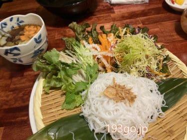 【吉祥寺】ベトナム料理「WICH PHO(ウィッチ フォー)」炭火が香ばしい!野菜盛りモリのビーフンつけ麺