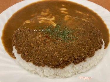 【渋谷 カレー】道玄坂の「カレー屋パクパクもりもり」1皿でドライとプレーンの2種盛り 唐揚げやソーセージのトッピングも