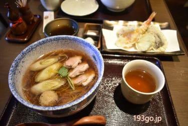 【西荻窪 蕎麦】「雲龍」2020大晦日、年越しそば!上品な鴨南蛮で暖まる。天ぷら盛り合わせも