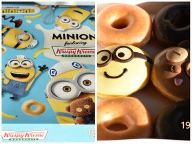 【クリスピー・クリーム・ドーナツ】「ミニオン」と初コラボ!ボブとティムの2種ドーナツ最速食リポ 2021年3月1日発売