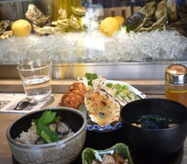 【西荻窪】オイスターバー&天ぷら「WHARF」で牡蛎尽くしの満足ランチ!南口の昼飲みが楽しいストリートに