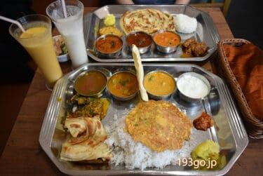 """【清澄白河 南インド料理】「ナンディニ」平日限定ミールスランチが盛リモリでワクワク """"サクもち""""ポロッタもまた食べたい"""