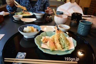 【品川 グランドプリンスホテル高輪】「天婦羅 若竹」天ぷら尽くしのレディースランチ!清々しい庭園の眺めで