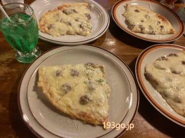【吉祥寺】「トニーズピザ」チーズの厚みがスゴイ!とろけすぎたピザ レトロ可愛い名店で休日もお得なランチセット